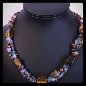 Genuine Gemstone Necklace